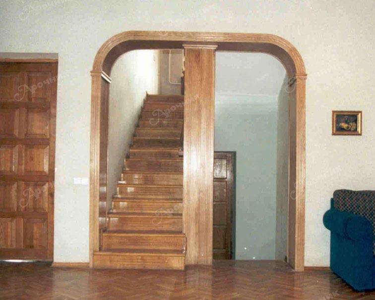 Деревянные межкомнатные арки своими руками